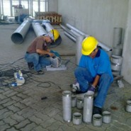 Cooling Water System – Prefabrication and Preparation piping